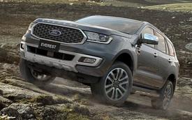 Ford Everest đời mới sẵn sàng cho ngày ra mắt cuối năm, trở lại đấu Toyota Fortuner