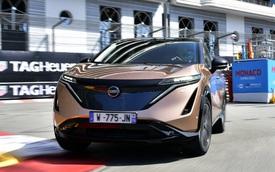 Nissan Ariya lần đầu công khai lăn bánh trên đường, chốt giá quy đổi từ hơn 1 tỷ đồng, đắt gần gấp đôi X-Trail