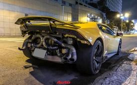 Lamborghini Huracan từng của doanh nhân Nguyễn Quốc Cường độ phong cách 'cởi truồng' cực dị