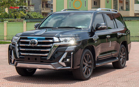 Vừa 'khui thùng' Toyota Land Cruiser 2021, đại gia Việt chịu chơi chi hơn 500 triệu độ theo phong cách độc với lưới tản nhiệt khổng lồ như xe đời mới