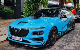 Chủ xe chi hơn 400 triệu độ VinFast Lux A2.0: Đèn pha phong cách Rolls-Royce, có chi tiết giống President