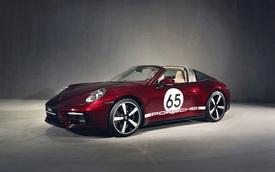 Porsche 911 Targa 4S Heritage Design chào hàng đại gia Việt: Giá tiêu chuẩn gần 12 tỷ đồng, ngang ngửa Mercedes-AMG GT R