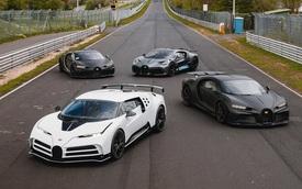 Dàn siêu xe Bugatti gần 550 tỷ, hơn 6.000 mã lực tề tựu - Hình ảnh có 1-0-2 mà tín đồ xe ao ước được gặp