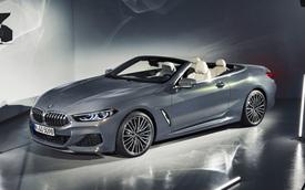'Trùm cuối' BMW 8-Series Convertible facelift lộ diện rõ nét hơn với nội thất học hỏi từ đàn em 5-Series