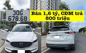 Bán Mazda CX-8 cũ nhưng 'biển đẹp' giá 1,6 tỷ, chủ xe được CĐM trả giá 800 triệu, chúc 10 năm sau bán được xe