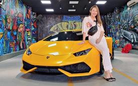 Vừa đổi màu, Lamborghini Huracan LP610-4 hàng hiếm bất ngờ về tay nữ đại gia mỹ phẩm Bạc Liêu