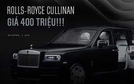 Với 400 triệu đồng bạn sẽ mua VinFast Fadil để lái hay một chiếc Rolls-Royce Cullinan để... ngắm?