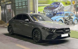 Mercedes-AMG A 35 4Matic 2021 đầu tiên bán: Giá 2,2 tỷ, ODO vỏn vẹn 1.800km