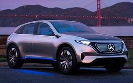 Lộ biến thể SUV của Mercedes-Benz EQS sắp về Việt Nam: To ngang GLS, dáng lai coupe