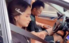 Lộ clip Matt Liu tháp tùng Hương Giang trên xế hộp tiền tỷ, nữ ca sĩ xuất hiện tươi tắn giữa nghi vấn rạn nứt?