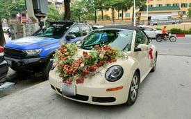 Pha sáng tạo đi vào lòng người: Thanh niên đi rước dâu bằng xe hoa vải thiều gây sốt MXH, sự thật là gì?