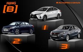 Toyota Vios lật thế cờ, bán vượt Hyundai Accent sau khi liên tục được ưu đãi, giảm giá