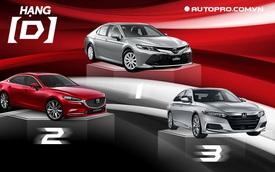 Mazda6 bán chỉ bằng số lẻ của Toyota Camry
