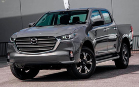 Mazda BT-50 2021 nhận cọc tại đại lý: Giá dự kiến từ 659 triệu, đầu như CX-8, động cơ mới, đáp trả Ford Ranger