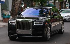 Rolls-Royce Phantom VIII đồn đoán của đại gia Ninh Bình xuất hiện trong tình trạng mới kính coong sau một thời gian âm thầm về nước