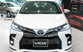 Toyota Vios chật vật giành lại ngôi vua phân khúc sedan hạng B - Khi giá trị cốt lõi dần mất sức hút trong mắt khách Việt