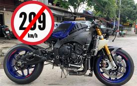 Hình ảnh chiếc phân khối lớn nát đầu của biker Việt và lời mô tả gây ám ảnh những ai thích mạo hiểm với tốc độ cao