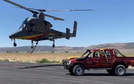 Toyota Hilux có 'never die' như lời đồn khi bị thả từ độ cao 3.000 mét?