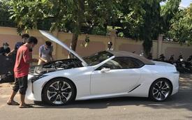 Ẩn mình 2 tháng, Lexus LC 500 Convertible siêu độc tại Việt Nam xuất hiện tại Bình Thuận, giá đồn đoán trên 10 tỷ đồng