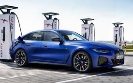 Ra mắt BMW i4 M50: Động cơ điện mạnh như siêu xe, chạy được gần 400 km mới phải sạc