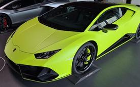 Lamborghini Huracan EVO sắp về Việt Nam sở hữu màu sơn xanh lá nhám 'không đụng hàng'
