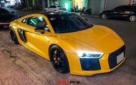 Đổi chủ, Audi R8 V10 Plus cũ của doanh nhân Nguyễn Quốc Cường tái xuất với diện mạo mới