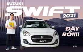 Khám phá Suzuki Swift 2021 giá 550 triệu vừa về đại lý: Có trang bị nhất phân khúc, tham vọng cải thiện doanh số