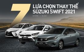 550 triệu đồng không mua Suzuki Swift 2021 thì mua xe gì: Hẳn sedan hạng C bán chạy nhất phân khúc, có cả xe 7 chỗ rộng rãi tiện nghi
