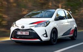 Toyota Yaris sắp có thêm phiên bản hiệu năng cao