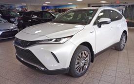 Toyota Venza 2021 nhập tư tiếp tục chào hàng nhà giàu Việt với 2 phiên bản, giá đắt hơn Lexus RX