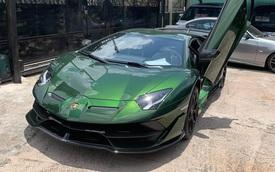 Đại gia lan Sài Gòn khoe Lamborghini Aventador SVJ màu độc nhất Việt Nam, bổ sung vào bộ sưu tập hàng loạt siêu xe khủng