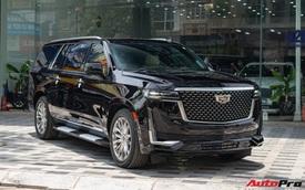Cadillac Escalade ESV giá gần 12 tỷ đồng - SUV full-size hạng sang cho nhà giàu Việt