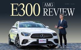 Đánh giá Mercedes-Benz E 300 AMG 2021: 3 tỷ đổi lấy sung sướng cả hai hàng ghế