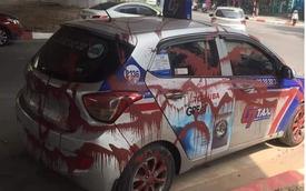 Vụ taxi bị tạt sơn kín xe: Vén màn bí mật nguyên nhân thực sự, thanh tra quyết dẹp bỏ vấn nạn