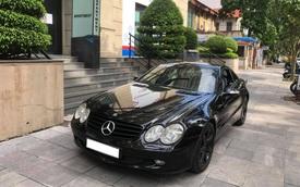 Dân chơi bán Mercedes-Benz SL 350 sau 16 năm, hạ giá rẻ ngang Toyota Corolla Altis