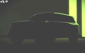 SUV mới toanh của Kia lộ diện, kích thước lớn gần ngang 'anh cả' Telluride