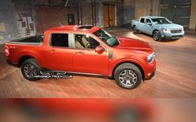 Lộ diện Ford Maverick trước ngày ra mắt - Bán tải 'mini' chủ yếu đi phố, đàn em Ranger