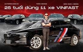 9x sở hữu 11 xe VinFast Lux kinh doanh dịch vụ vận tải: 'Ngốn nhiên liệu nhưng bảo dưỡng rẻ, làm 5 năm hoàn vốn'