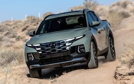 Đây là mức tiêu thụ xăng của Hyundai Santa Cruz: Bản mạnh nhất tốn hơn 12,3 lít/100 km nhưng vẫn tiết kiệm hơn Ford Ranger