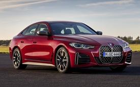 Lớn hơn và mạnh hơn trước, BMW 4-Series Gran Coupe 2021 đe nẹt Audi A5 Sportback với giá quy đổi từ khoảng 1 tỷ đồng