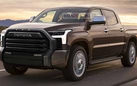 Xem trước Toyota Tundra thế hệ mới sẽ trở lại đấu Ford F-150
