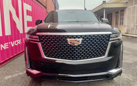 'Khủng long' Cadillac Escalade 2021 đầu tiên cập bến Việt Nam: Giá khoảng 8 tỷ đồng, động cơ mới siêu tiết kiệm, dành cho đại gia không thích Lexus LX 570