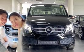 Nguyễn Quốc Cường sắm 2 chiếc Mercedes-Benz V 250 giá gần 6 tỷ cho 'anh 2 và chị 3', vừa 'bóc tem' đã chở cả nhà đi trải nghiệm