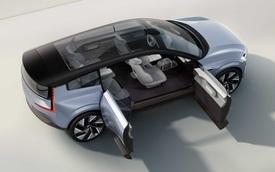 Ra mắt Volvo Recharge Concept: Cửa mở như Rolls-Royce, bộ khung cho XC60, XC90 đời mới