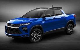 Bán tải đi phố Chevrolet Montana thế hệ mới úp mở 'tầm cao mới' để cạnh tranh Ford Maverick và Hyundai Santa Cruz