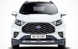 Xem trước Ford EcoSport 2022 ra mắt đầu năm sau - Nâng cấp để gây áp lực lên Kia Sonet và Hyundai Kona