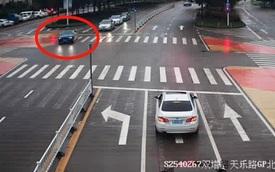 """Màn trả thù có """"1-0-2"""": Cô gái dùng xe của tình cũ vượt đèn đỏ 49 lần"""