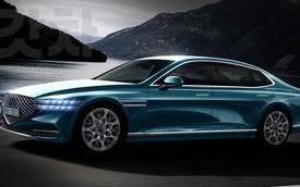 Xem trước Genesis G90 2022 - Đối trọng của Mercedes-Benz S-Class sẽ tạo cuộc cách mạng xe sang Hàn Quốc