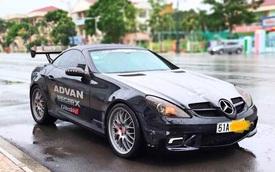 Cán mốc 600.000km, xe 'hot' một thời Mercedes-Benz SLK 55 AMG được rao bán với mức giá hơn 200 triệu đồng