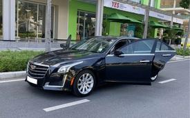 Chạy lướt 18.000km, hàng hiếm Cadillac CTS hạ giá chỉ 1,7 tỷ đồng
